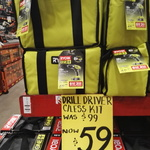 [NSW] Ryobi 18V Cordless Drill Set $59 @ Bunnings (Alexandria)