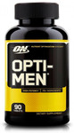 Optimum Nutrition Opti-Men, 180 Caps $34.95 2nd $27.96 + Shipping $9.95  ($5 off 1st Order = 360 for $67.86 Shipped) @ Amino Z