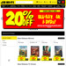 20% off Blu-Ray, DVD and 4K Blu-Ray @ JB Hi-Fi