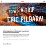 Win a Trip to Karijini National Park for 2 Worth Up to $5,000 from Tourism North West