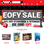 EOFY Sale 20% off Online and Instore @ Games World