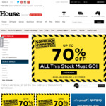 Free Shipping Sitewide with Code Sale Items from $1 @ House