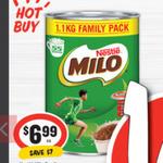 [QLD & NSW] Half Price Nestlé Milo 1.1kg $6.99 @ IGA (64¢ Per 100g)