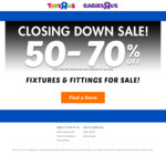 50% off LEGO (and Everything Else) at Toys R Us
