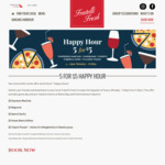 [NSW] Sydney Weekday Pizza / Beers / Cocktails- $5 Each from 4-6pm @ Fratelli Fresh, Sydney