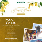 Win a Klorane Sun Protection Pack Worth $521.75 +/- Minor/Instant Win Prizes from Pierre Fabre