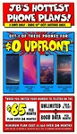 Telstra $65 Plan | 80GB Data | Unlimited Talk & Text | 24 Month Contract with $0 Upfront Fee on Selected Phones @ JB Hi-Fi