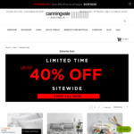 Up to 40% off Sitewide Sale at Canningvale (Beach Towels, Sheets, Bath Towels, Quilts, Waffle Hair Towel, Face Washers & More)