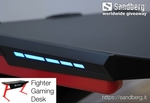 Win a Fighter Gaming Desk Worth $334 from Sandberg