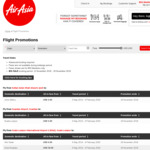 AirAsia 11.11 Sale - from US$4 One Way (eg KL to Johor Bahru), KL to Sydney from US$86 (May 6 to Feb 4 '20) (Public from 12th)