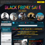 [PC, Steam, Uplay] Black Friday Sale - 1500+ Game Titles up to 95% off across 2 Weeks @ GamersGate