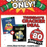 [PC, PS4, XB1] Fallout 76 + Fallout 4 GOTY Edition $80 @ EB Games