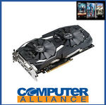 ASUS Radeon RX580 4GB Dual OC PCIe Video Card DUAL-RX580-O4G $224.10 Delivered @ eBay Computer Alliance