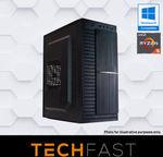 Ryzen 5 2600 GTX 1060 6GB 120GB SSD 8GB DDR4 550W Gaming Desktop PC $671.20 Delivered @ TechFast eBay AU