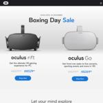 Oculus Rift VR System $529, Oculus Go $269 (Delivered) @ Oculus