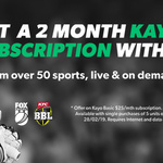2 Months Free of Kayo Sport Basic Worth $50 When You Purchase an iPad from JB HIFI