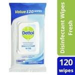 1/2 Price - Dettol Antibacterial Disinfectant Wipes (Varieties) 120 Wipes $5 @ Coles