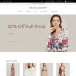 20% off All Full Priced Items @ Witchery