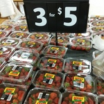 [WA] 3 x 250g Strawberries $5 @ Coles