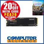 Samsung 970 EVO Plus 1TB NVMe M.2 SSD $287.20 + $15 Shipping (Free with eBay Plus) @ Computer Alliance eBay