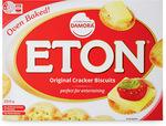 Damora Eton Cracker Biscuits 250gm $0.99 (Were $1.39) @ ALDI