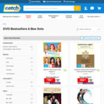 Up to 50% off DVD & Blu-Ray @ Catch
