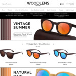 Final 100 Styles for 2018/19 - 75% off Handmade Bamboo Sunglasses Storewide @ Woodlens