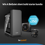 Win a be quiet! Chassis/PSU/Cooler Bundle Worth Over $470 from Scan