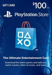 [PSN] PlayStation Store 100 USD PSN Gift Card US $85.89 (~AU $124.54) @ LVLGO (US PS Accounts)