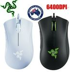 Razer DeathAdder Essential Gaming Mouse Black or White $35.96 + Delivery (Free with eBay Plus) @ Apus Auction eBay