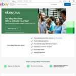 4 Month Free eBay Plus Trial For First Time Trial Users @ eBay