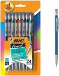 BIC Xtra-Precision Mechanical Pencil, Fine Point (0.5mm), 24-Count $6.14 + Delivery (Free with Prime) @ Amazon US via AU