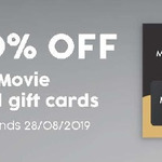 20% off The Movie Card (Independent Cinemas Gift Card), 15% off Spotify Premium & Best Restaurant Gift Cards @ Target