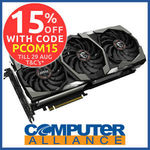 MSI RTX2080Ti 11GB Gaming X TRIO PCIe Video Card $1699.15 + Delivery (Free with eBay Plus) @ Computer Alliance eBay