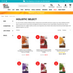 25% Off Holistic Select 10.88kg Dog Food - $89.99 (Was $120) + Free Delivery @ Pet House