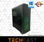 Ryzen 5 3600 RX 5700 8GB 120GB SSD 8GB DDR4 Gaming Computer Desktop PC $849 Delivered @ Techfast eBay