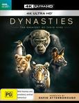 Dynasties 4K UHD $13.99 + Delivery (Free with Prime/$39 Spend) @ Amazon AU