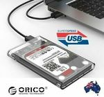 Orico USB 3.0 SSD Enclosure - 2 for $12, Baseus QC3 USB-C Charging Cable - 2 for $12 + Del ($0 w/eBay Plus) @ Apus Express eBay