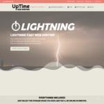 50% off 2 Years Lightning 5GB Web Hosting Plan + free .com.au Domain @ UpTime