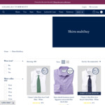 Charles Tyrwhitt 5 Shirts for $199 + Free Delivery