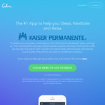 [Android, iOS] Free - One Year Access to Calm App (Was $62.99) @ Google Play/iTunes