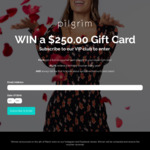 Win a $250 Voucher from Pilgrim Clothing
