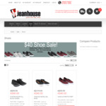 Vans, Converse Shoe Clearance, $40 (Save up to $90) Free Delivery if Spend over $80 @ Jean House