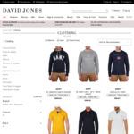 30-50% off Selected Nautica & Gant: Short Sleeve Solid Logo Tee $22.50 @ David Jones