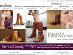 Enjoy 20% (> $100) off Fashion and Accessories, & Free Int. Shipping at Endless.com