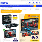 LEGO Technic Car Transporter 42098 - $149 (Save $100) @ Big W