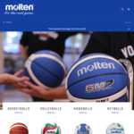 40% off All Netballs & 20% off All Volleyballs (Free Freight) @ Molten Australia