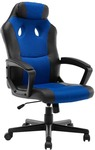 Ergolux Dexter Gaming Chair (Black/Blue) $79 + Delivery (Free with First) @ Kogan