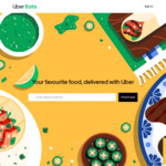 $15 off Your First Order with Uber Eats