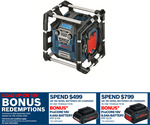 Bosch Blue 18V GML Professional PowerBox Radio Media Player and Charger $160 @ Bunnings